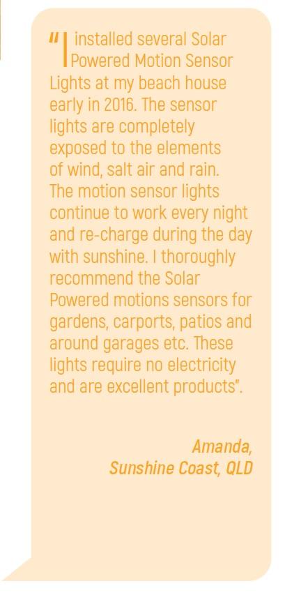 outdoor garden sensor light review