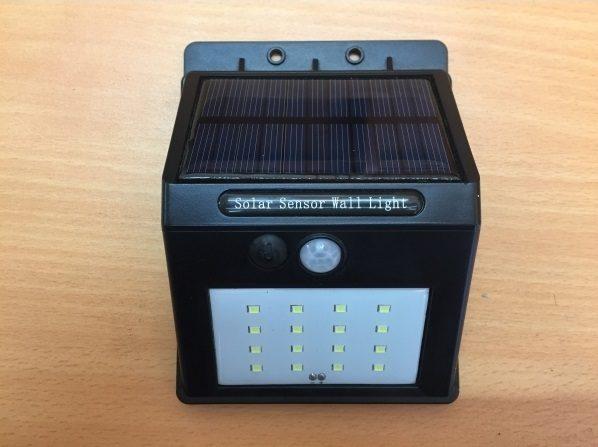 pv led sensor lighting garden outdoor light